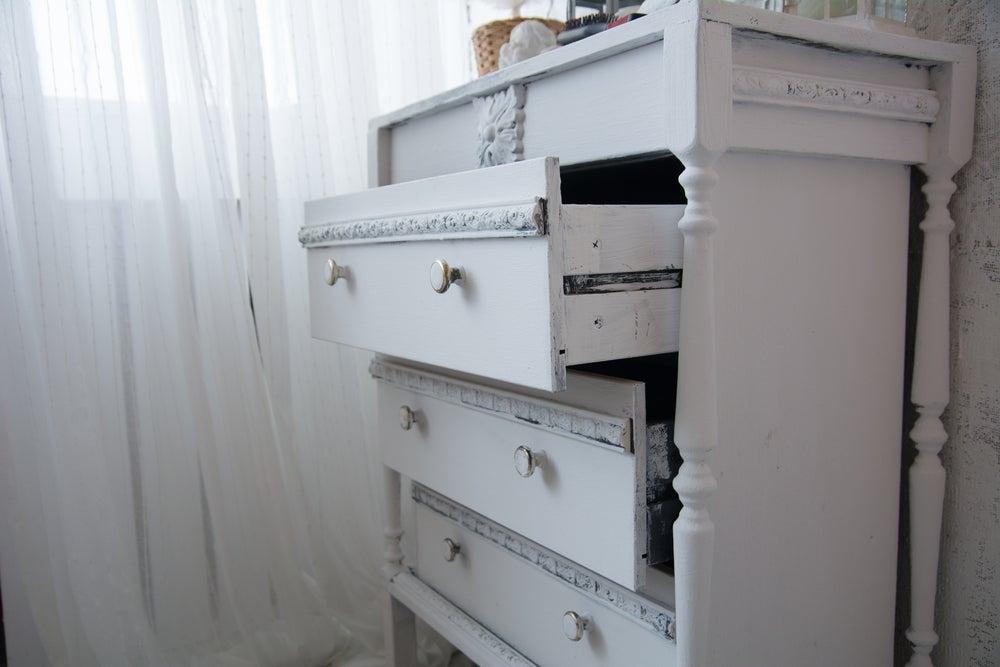 4 tipos de chifonier para habitaciones pequeñas
