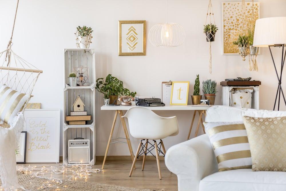 Consejos para decorar en dorado y plateado