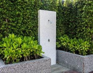 Novedosas duchas para el jardín.