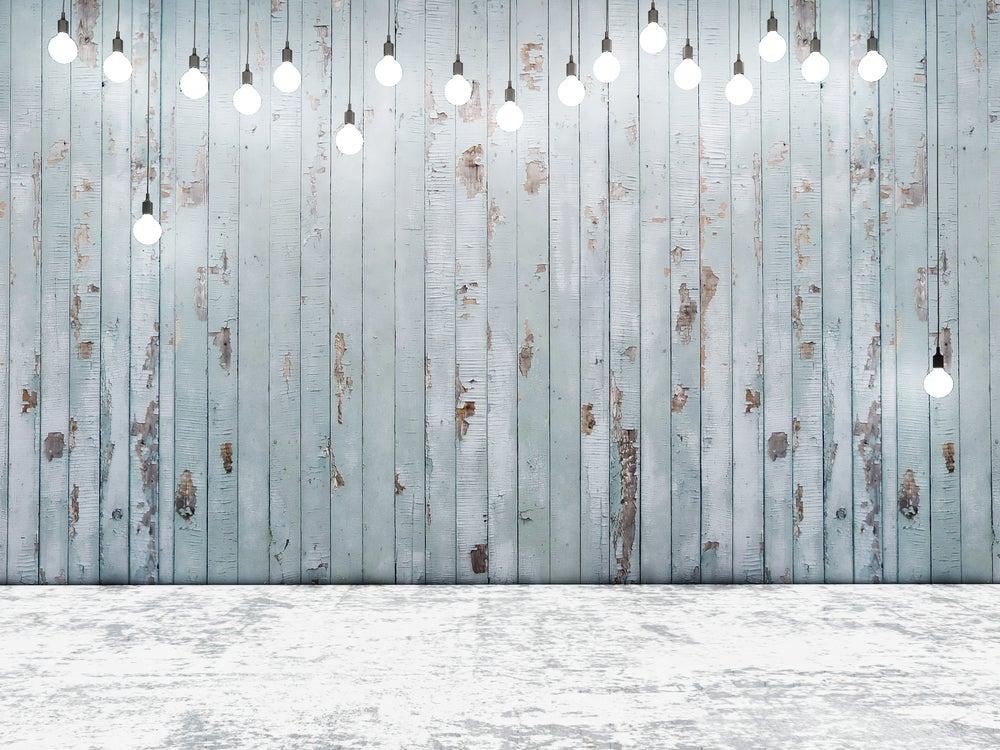 luces paredes en fiesta de boda