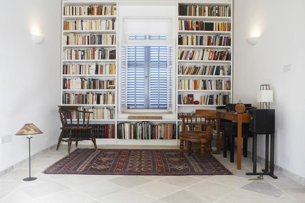 librerías para casas grandes