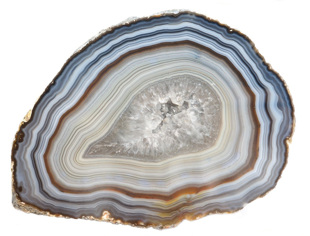 Mineral ágata.