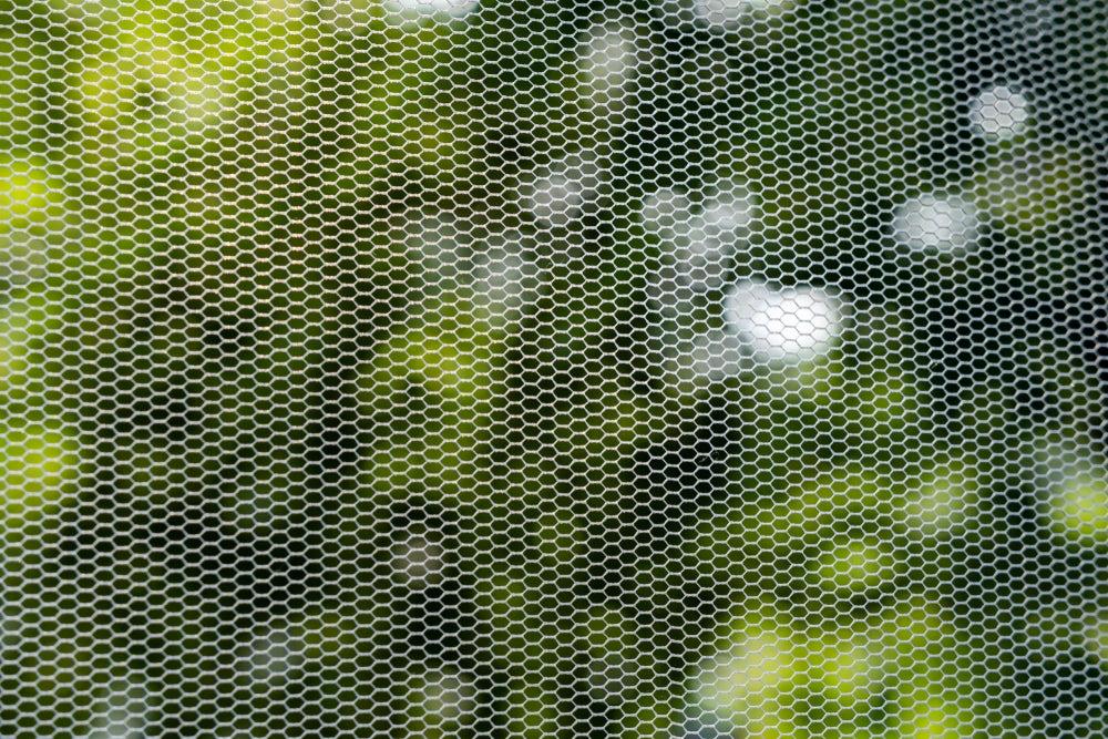 Acondicionar el dormitorio: mosquitera