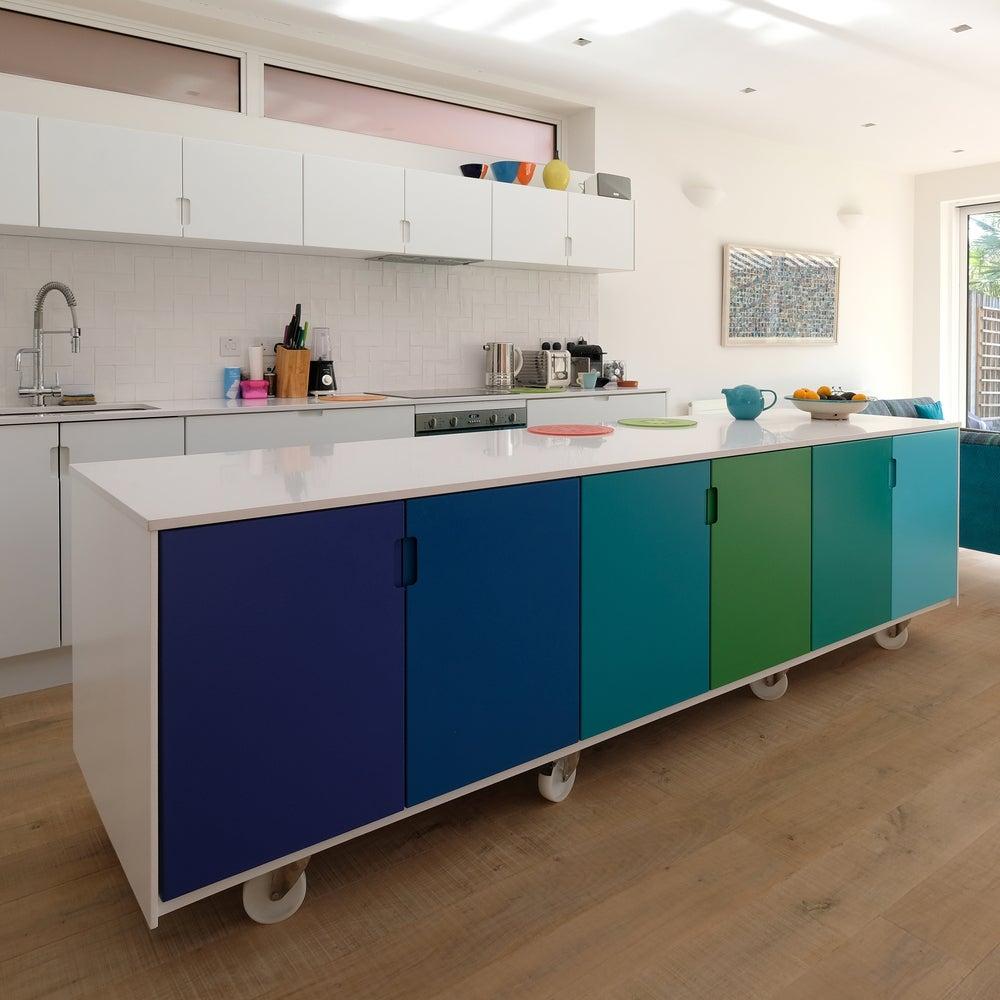 Muebles con ruedas para la cocina