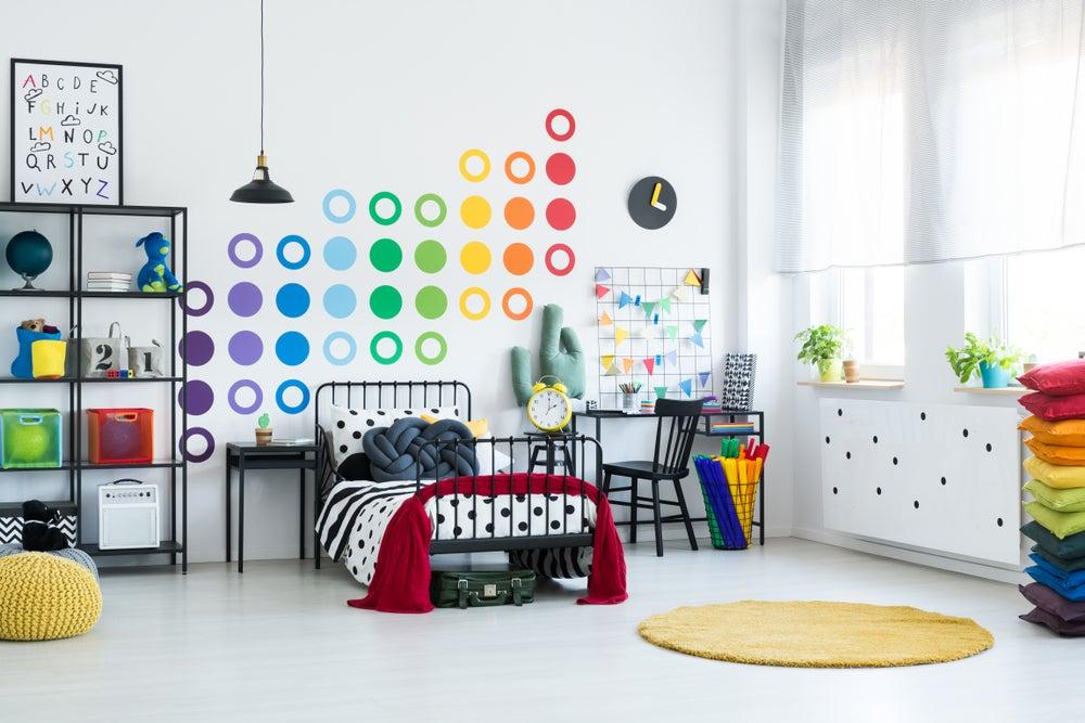 6 tips para elegir los muebles de la habitación de tus hijos