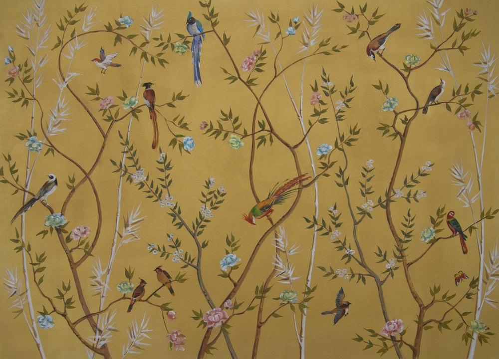 Papel de pared botánico.