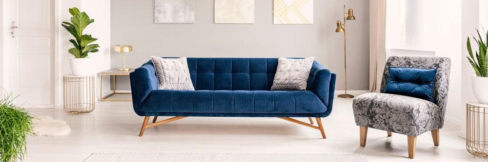 Tipos de rellenos para el sofá para que sea más cómodo