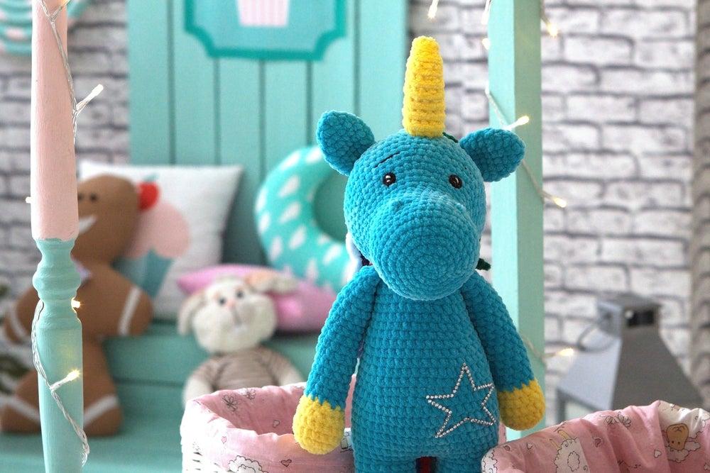 Animales de crochet para habitaciones infantiles