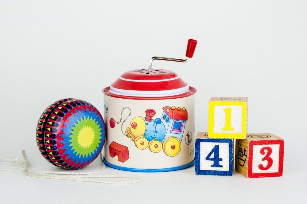 Cajas musicales para decorar habitaciones infantiles