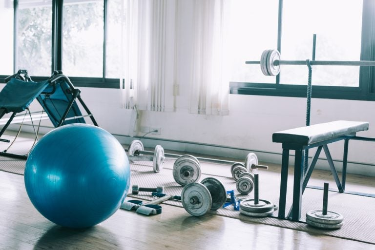 Decora tu propio gimnasio en casa