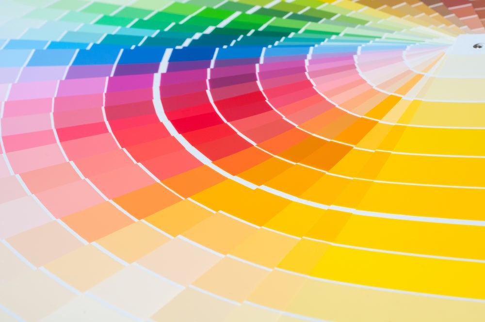 Colores en decoración.