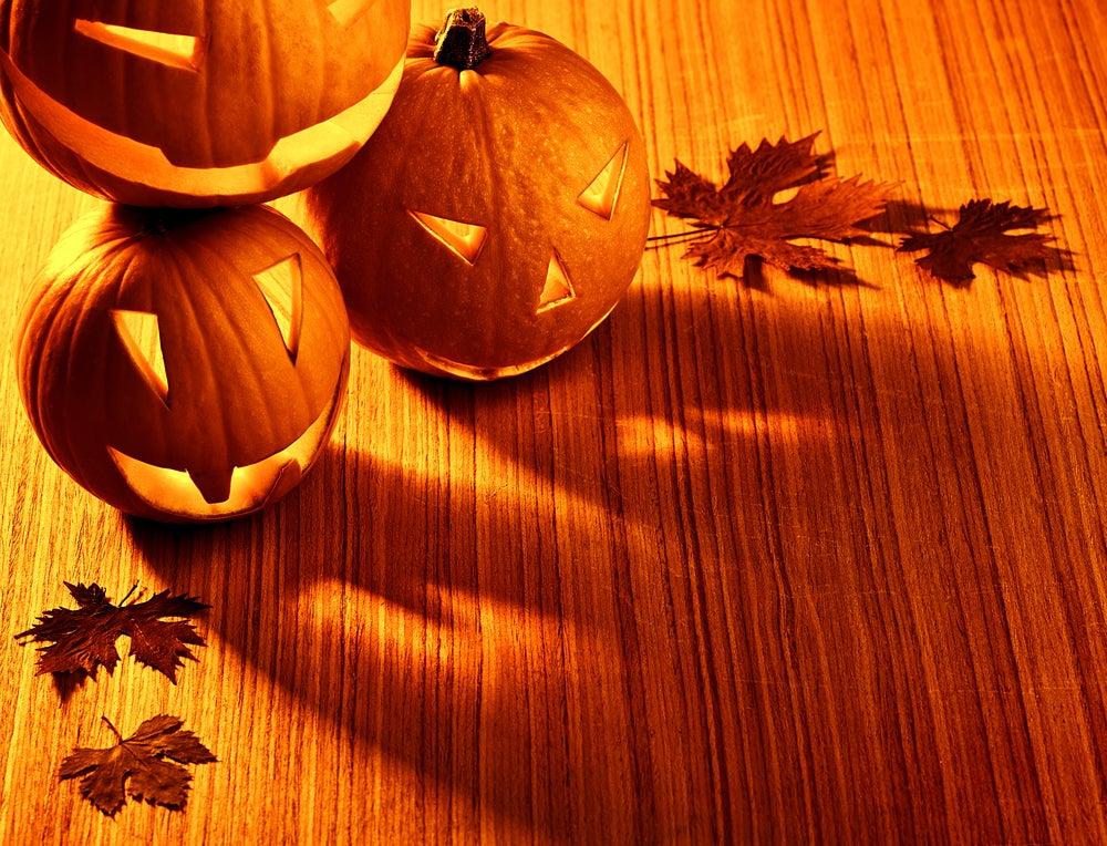Decoración para Halloween.
