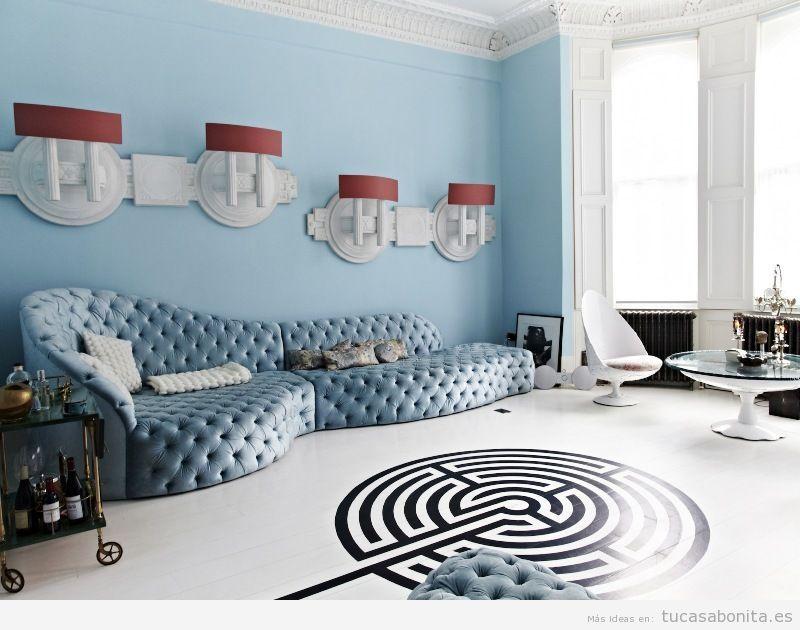 A surrealist living room.
