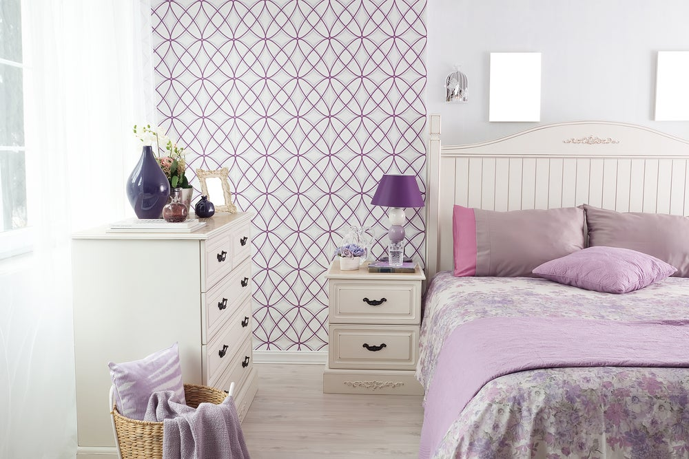 3 consejos para decorar una habitación en color morado