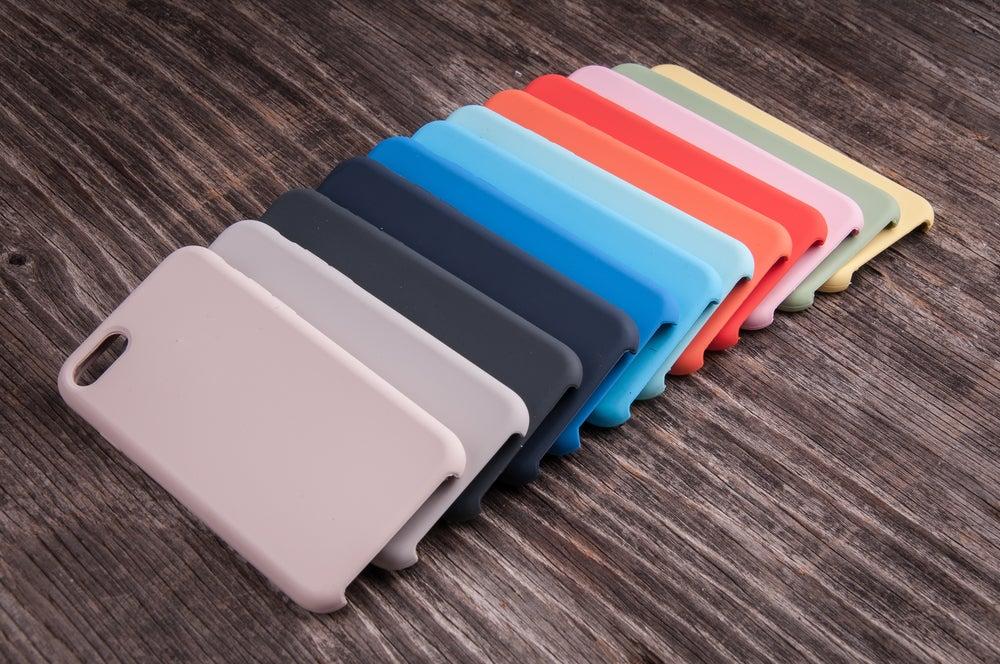 Fundas de colores.