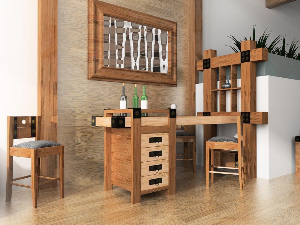Crea tu propio mueble bar para tener en el salón