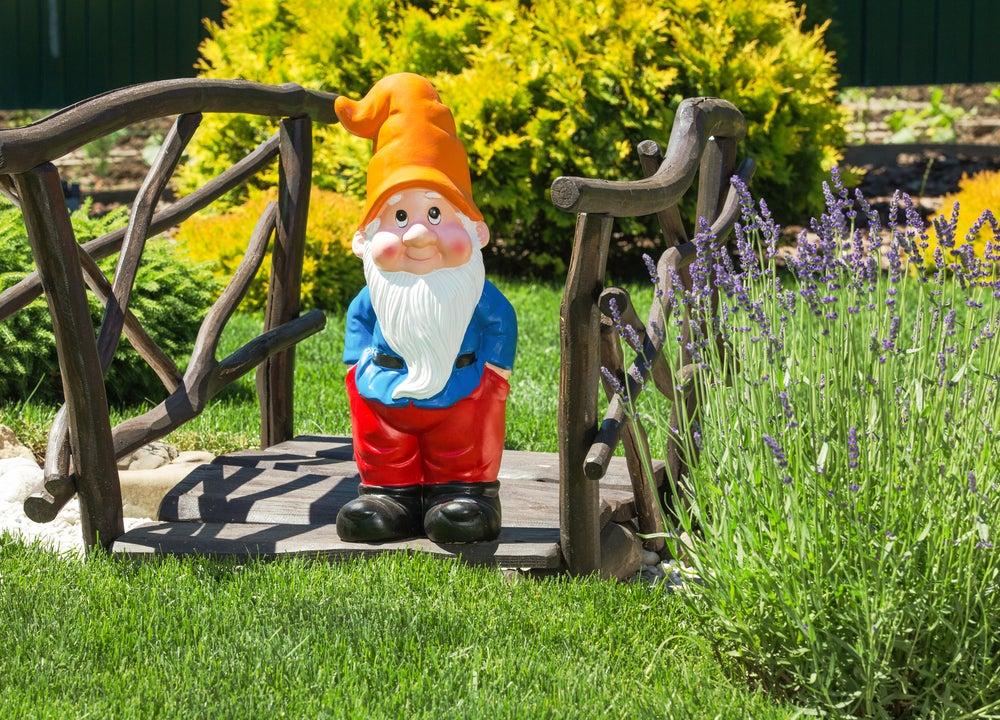 Decoración fantasía para el jardín