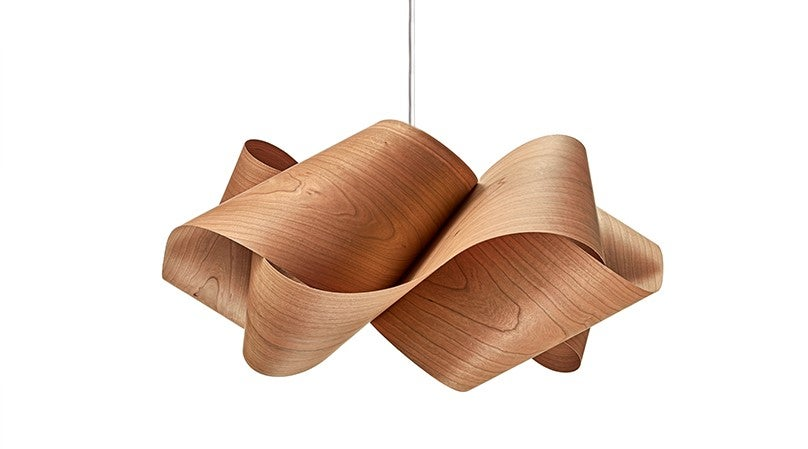 Wooden ceiling lamps are rustic and beautiful.