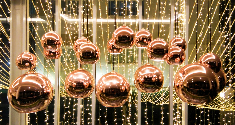 Lámparas de cobre de distintos estilos