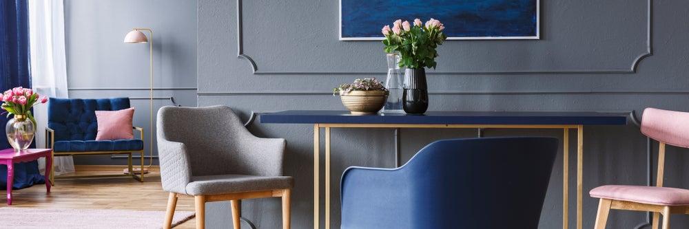 Muebles para crear un punto focal.