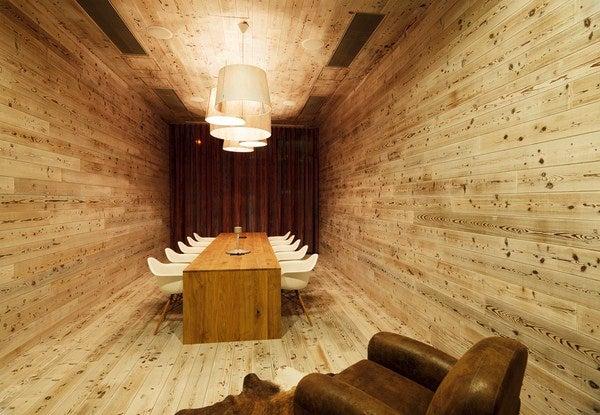 Oficina de madera.