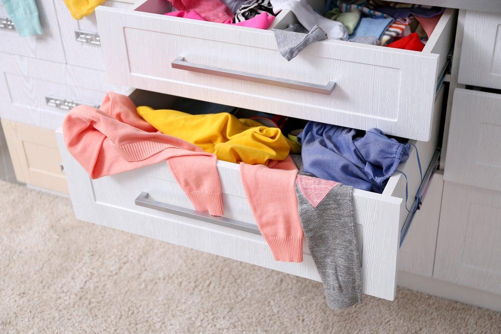 La importancia de tener bien ordenados los cajones de la ropa