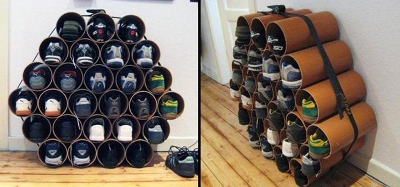 Organizador de zapatos por Jost Litzen.