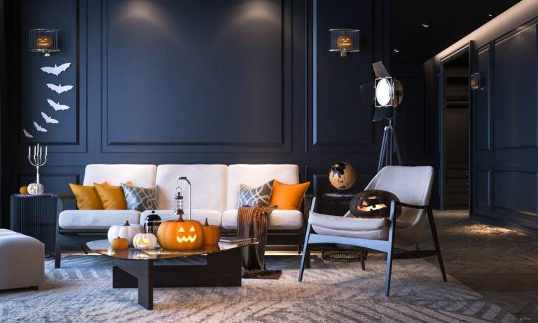 Ideas para decorar con luces en Halloween