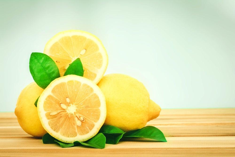 Semillas del limón.