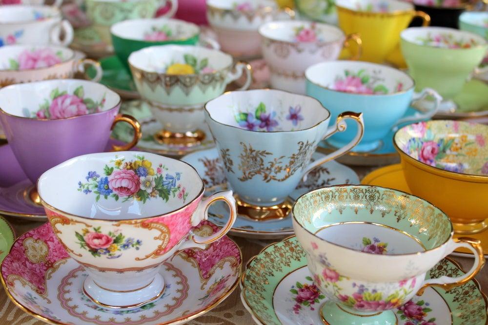 Tazas de té.