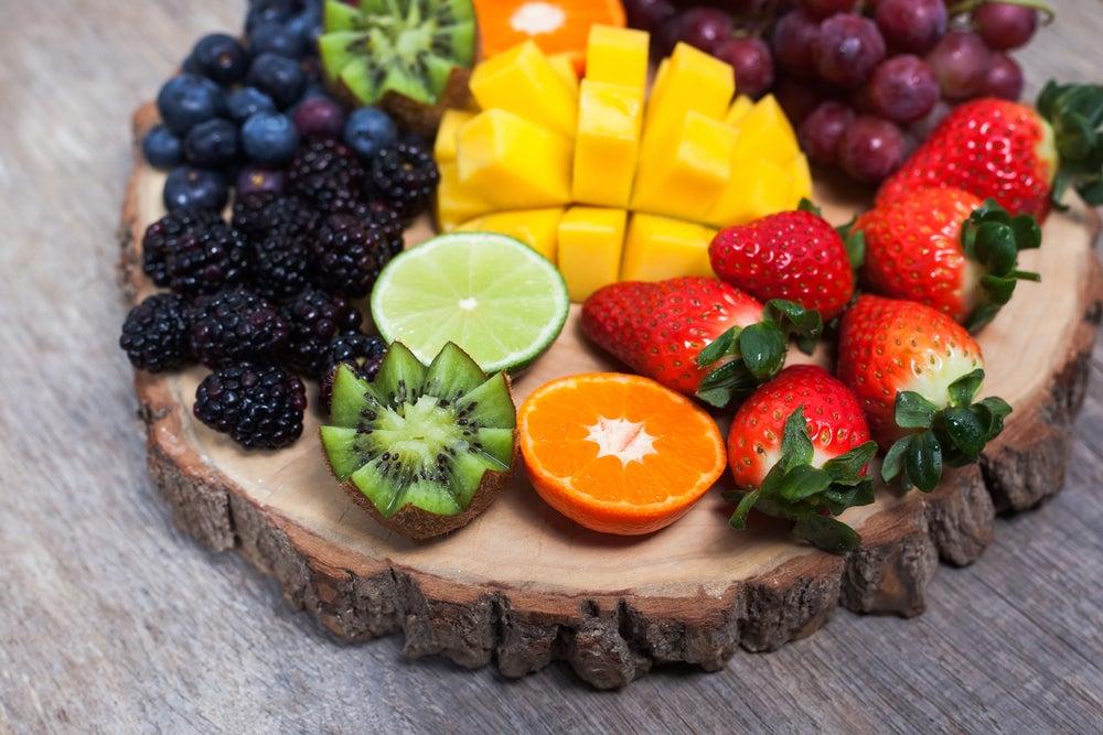 Fruit trays.