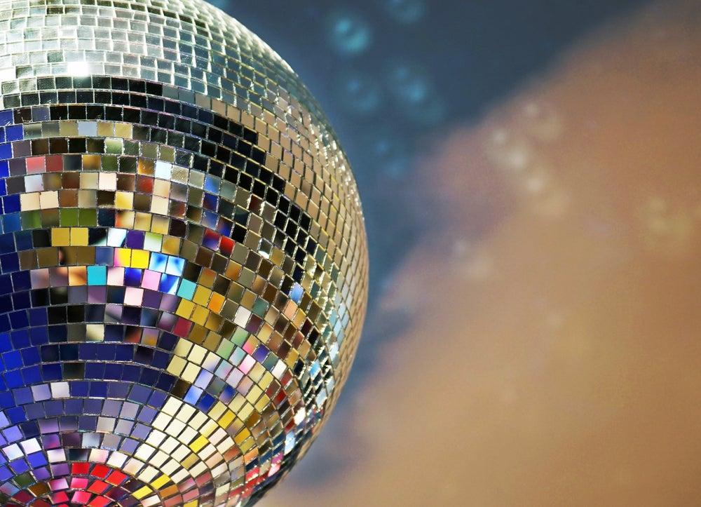 Bola de discoteca.