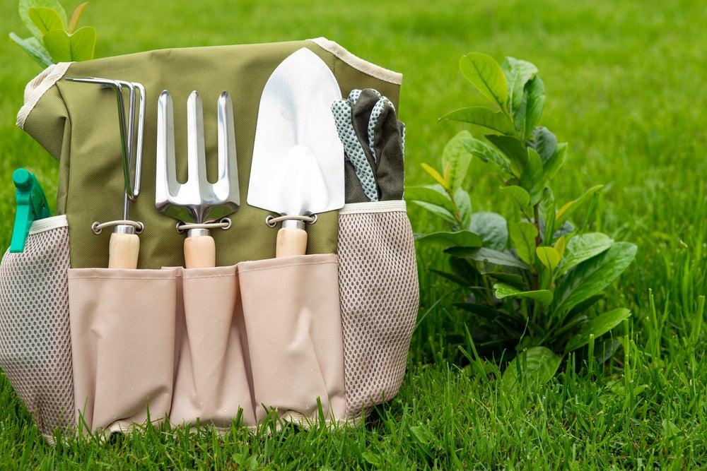 Herramientas básicas de jardinería.