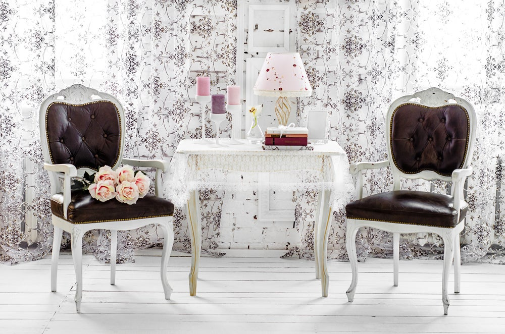 Muebles shabby chic.