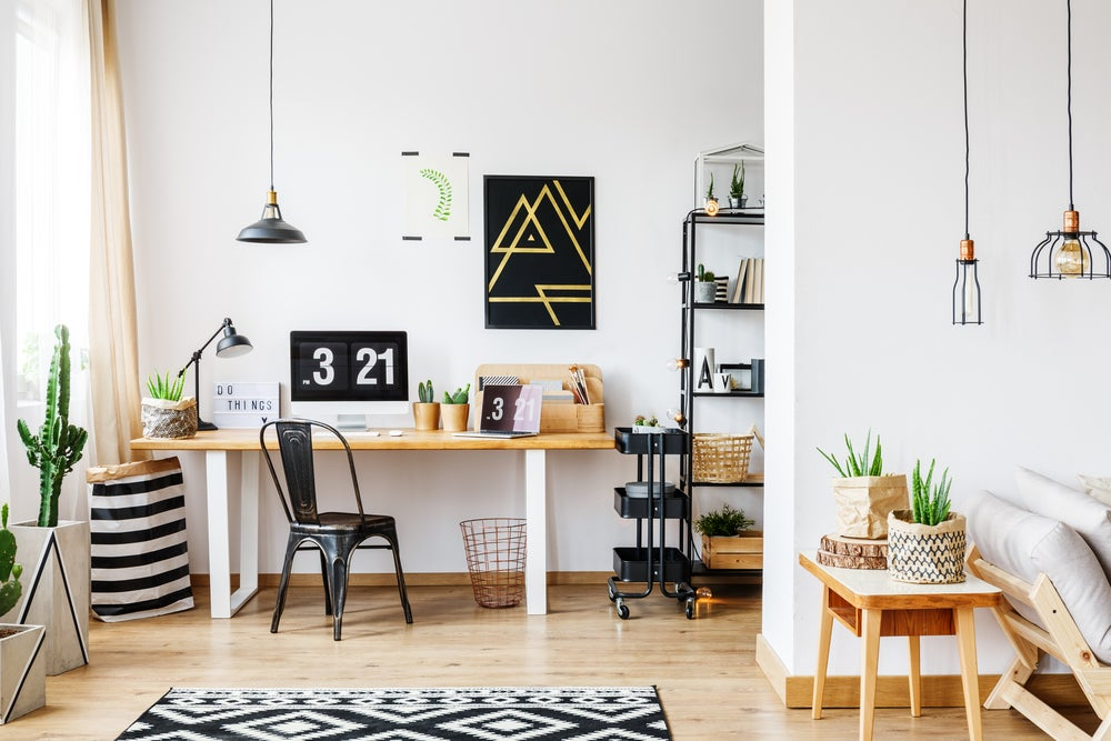Oficina en casa.