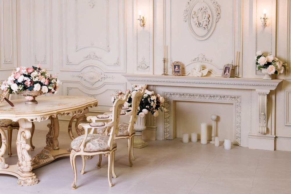 Salón barroco.