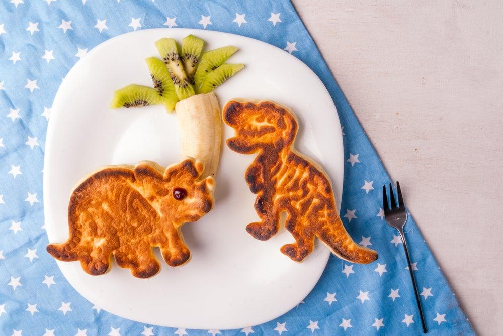 Sándwich de dinosaurios.