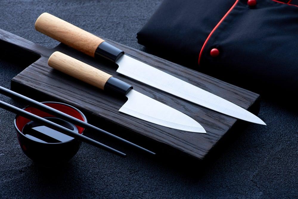 Tipos de cuchillos japoneses.
