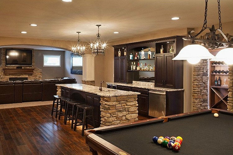 Your home bar could be rustic, modern, minimalist, or any style you want.