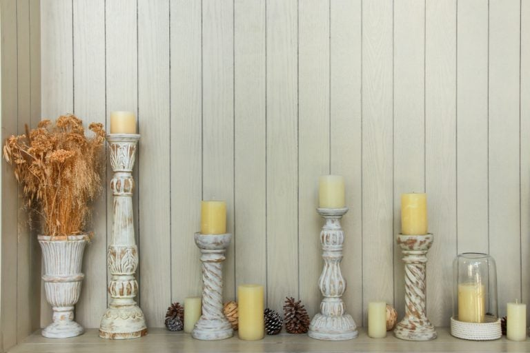 2 diseños de candelabros de madera fácil de fabricarlos