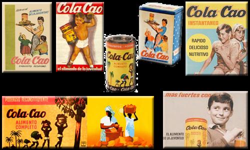 Carteles de Cola-Cao.