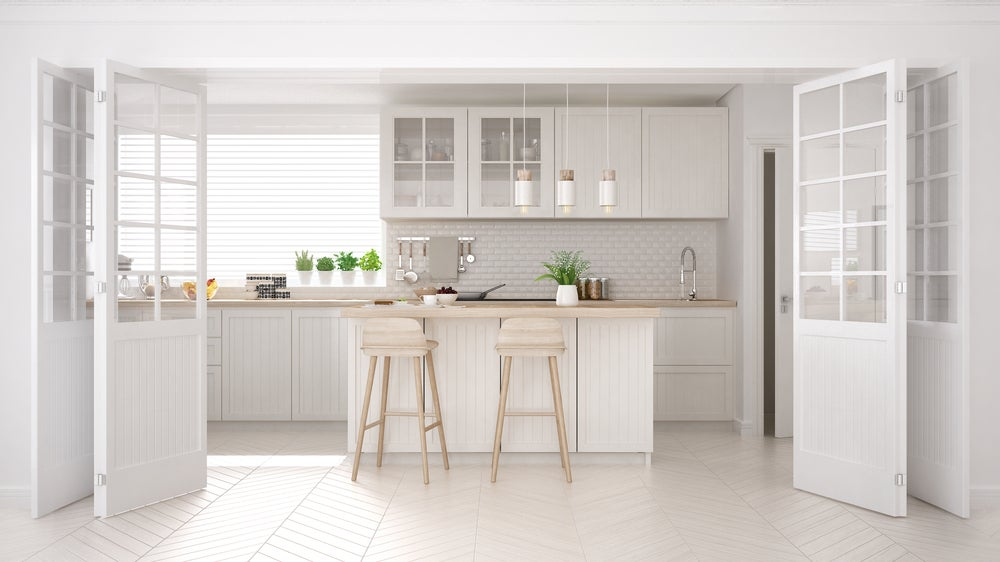 Cocinas modernas en color blanco — Mi Decoración