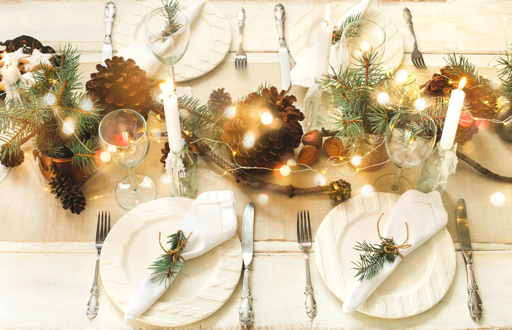 6 tips para presentar una mesa de Navidad ideal