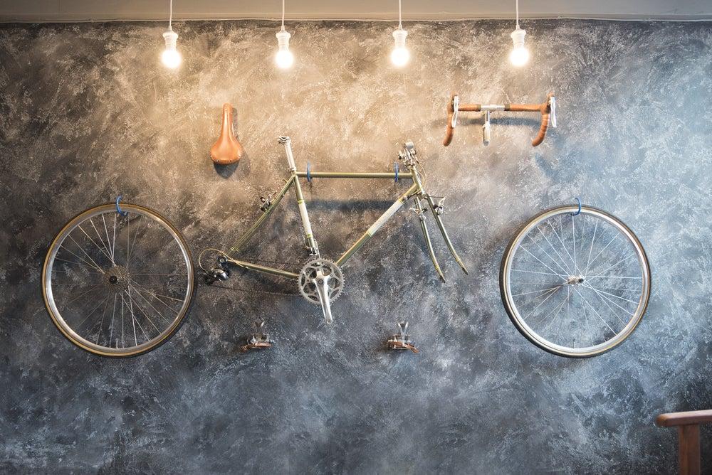 Ruedas de bicicletas para decorar tu casa