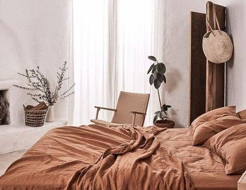 El color teja para la decoración de tu hogar