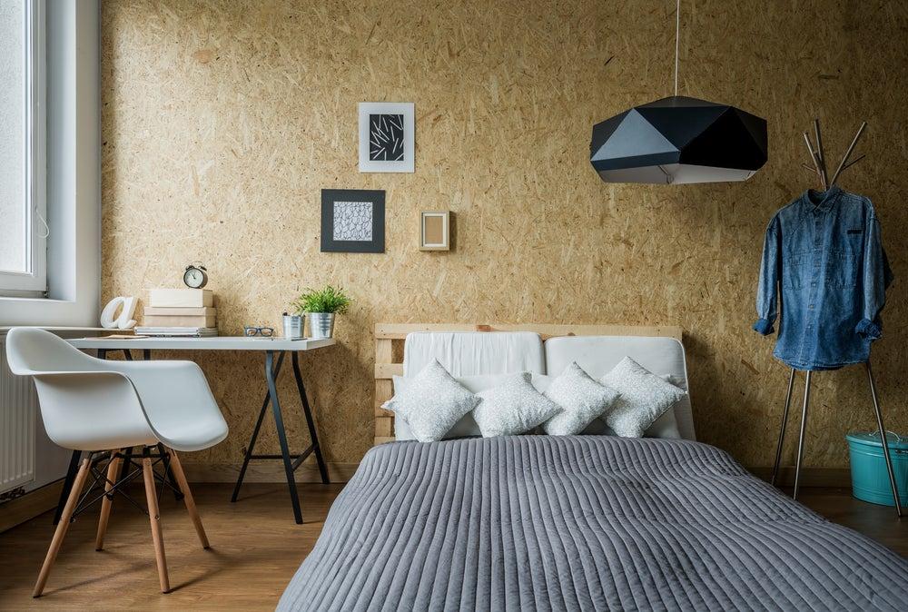 Dormitorio original.