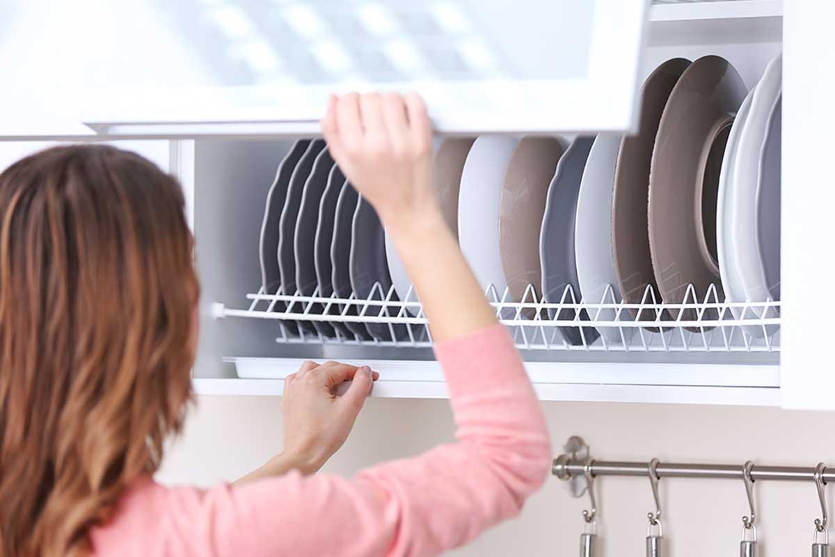 Aplica el deco detox en la cocina.
