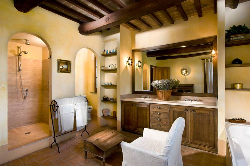 Estilo italiano para decorar interiores