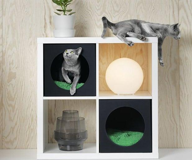 Mueble para gatos.