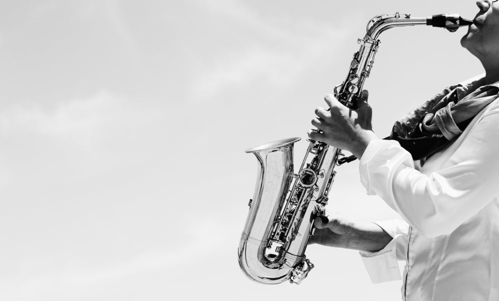 Música jazz.